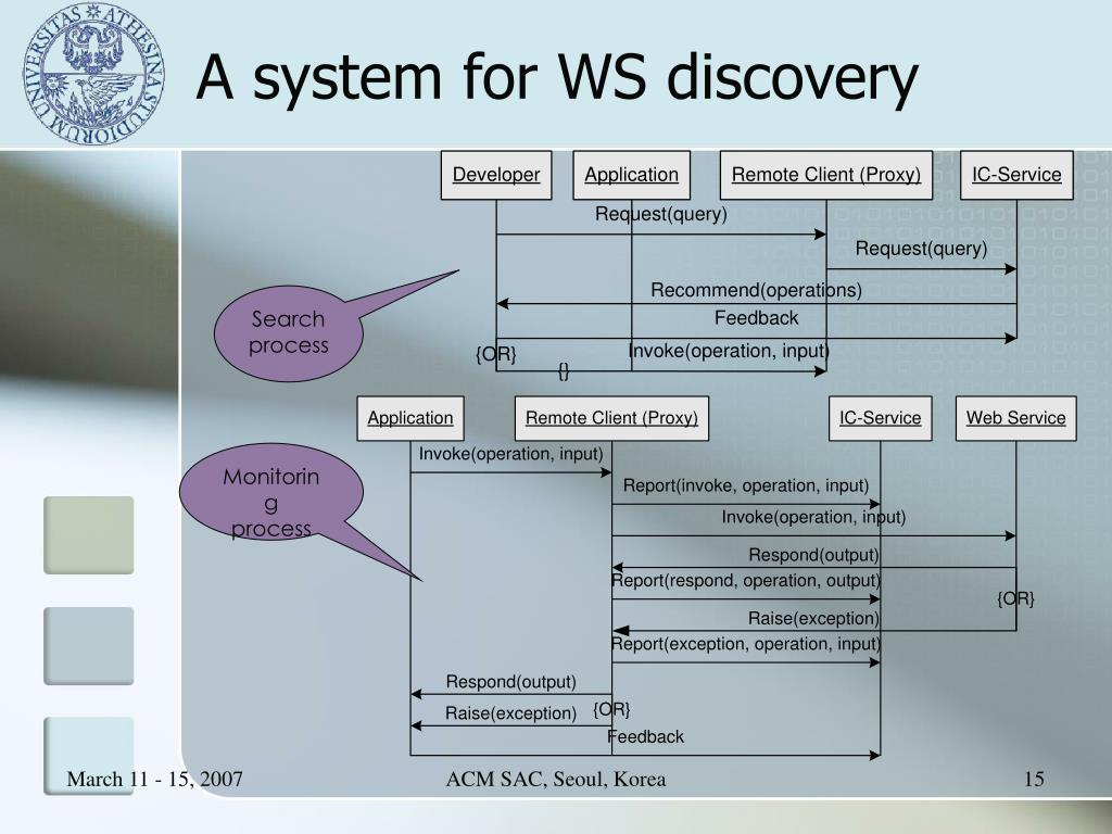 A system for WS discovery