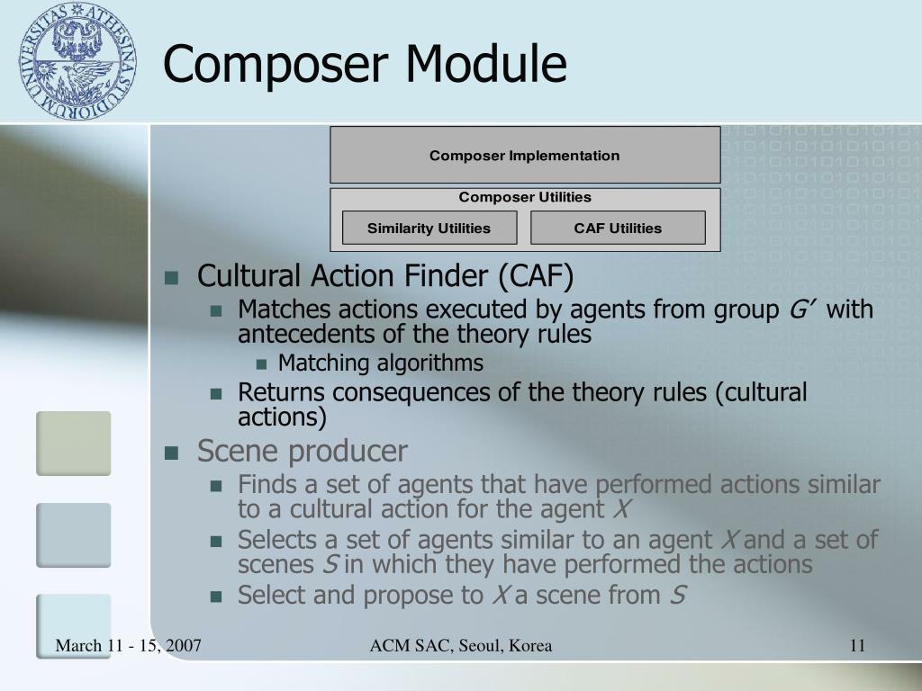 Composer Module