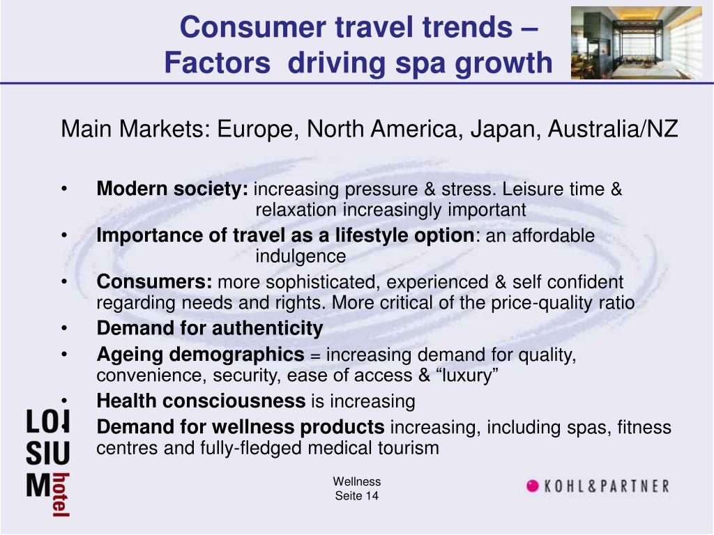 Consumer travel trends –