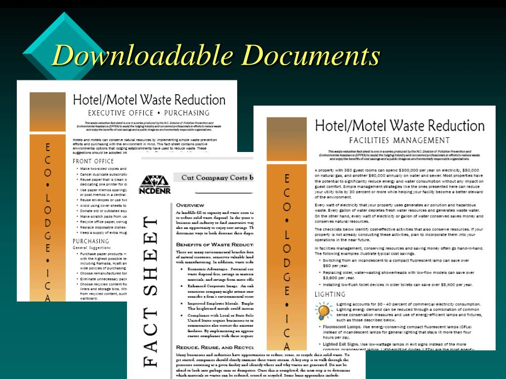 Downloadable Documents