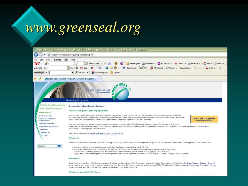 www.greenseal.org