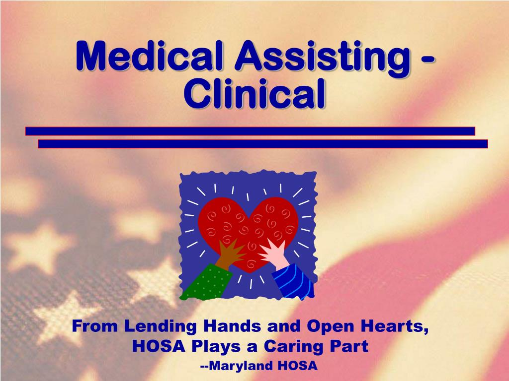 Medical Assisting - Clinical