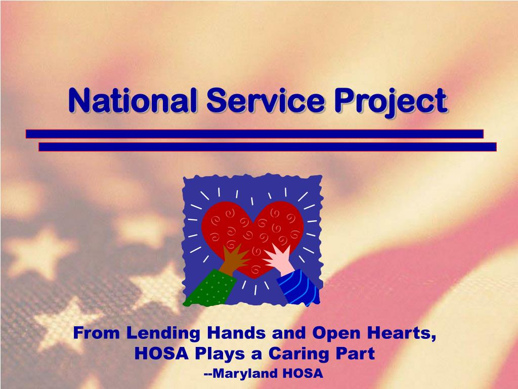 National Service Project