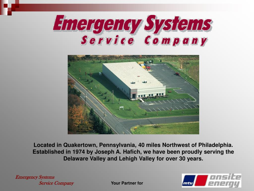 Located in Quakertown, Pennsylvania, 40 miles Northwest of Philadelphia.  Established in 1974 by Joseph A. Hafich, we have been proudly serving the Delaware Valley and Lehigh Valley for over 30 years.