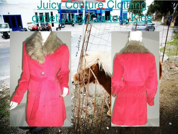 Juicy couture clothing outlet juicy couture kids