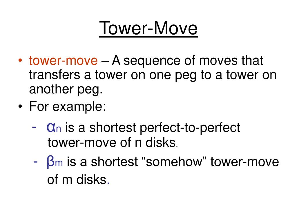 Tower-Move