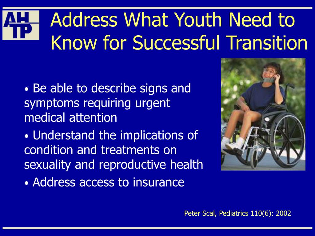 Address What Youth Need to Know for Successful Transition
