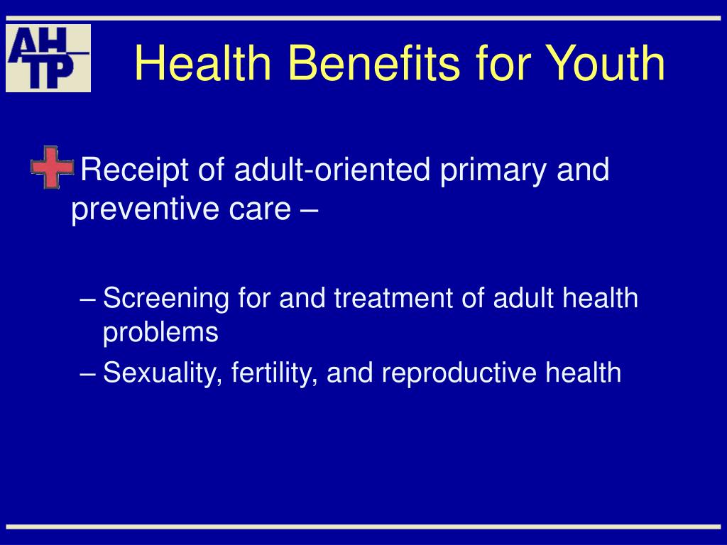 Health Benefits for Youth