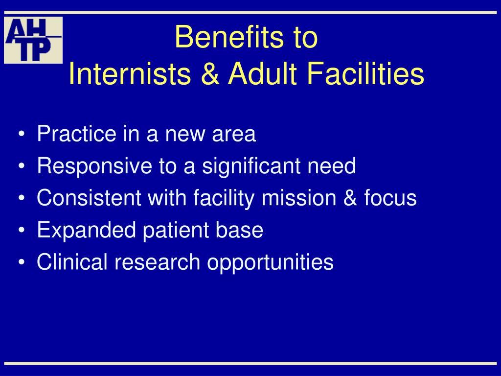 Benefits to