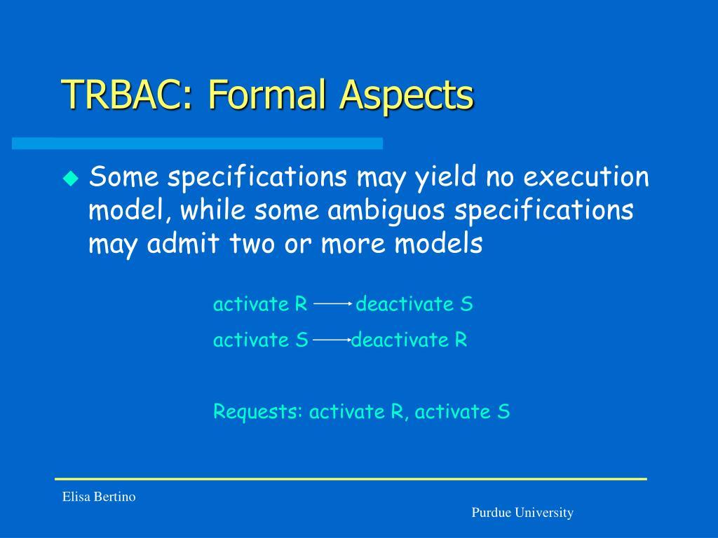 activate R        deactivate S