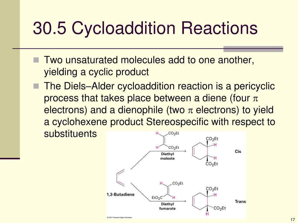 30.5 Cycloaddition Reactions