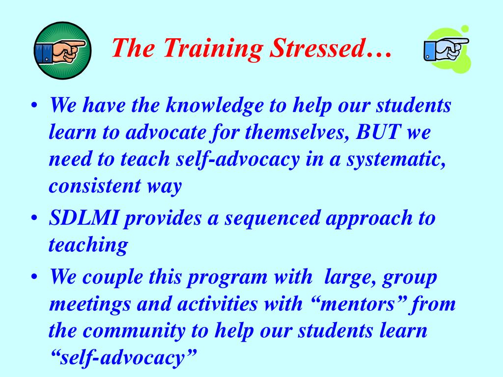 The Training Stressed…