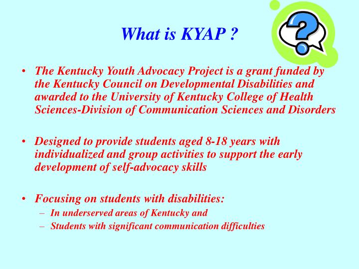 What is kyap