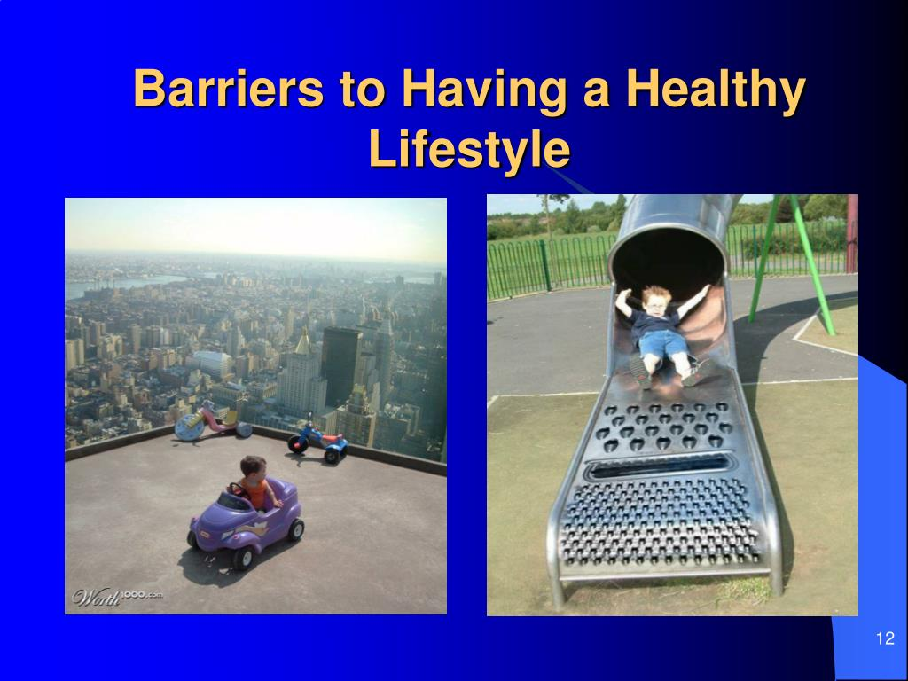 Barriers to Having a Healthy Lifestyle