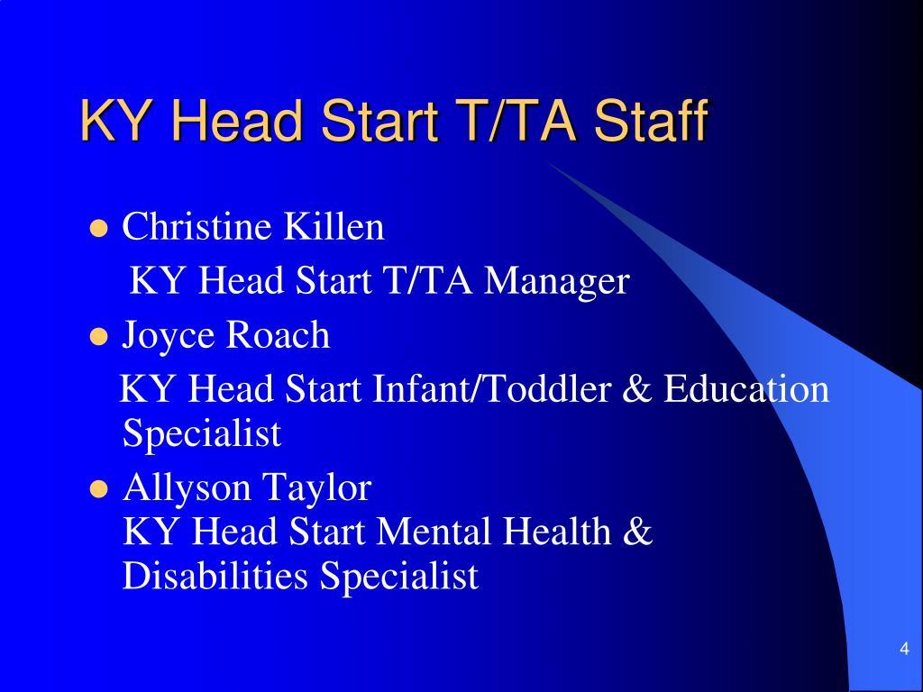 KY Head Start T/TA Staff