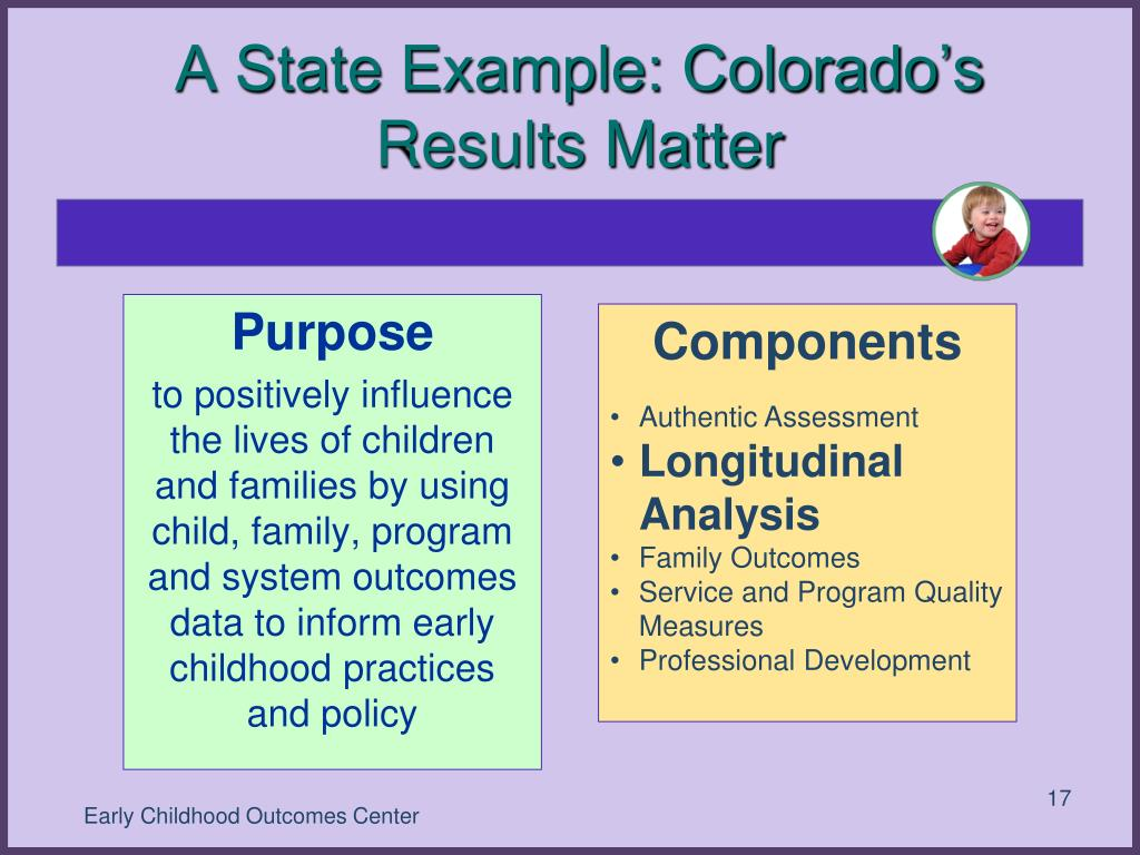 A State Example: Colorado's Results Matter