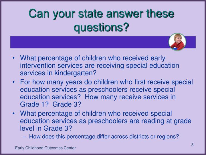 Can your state answer these questions