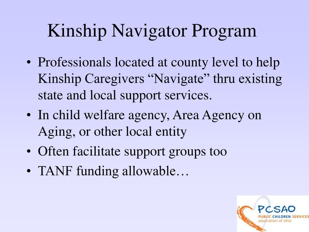 Kinship Navigator Program