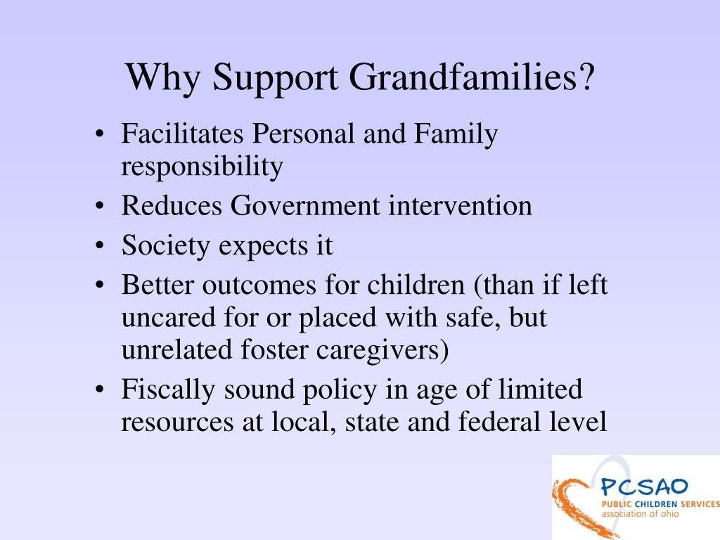 Why Support Grandfamilies?