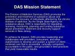 das mission statement