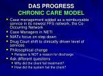 das progress chronic care model