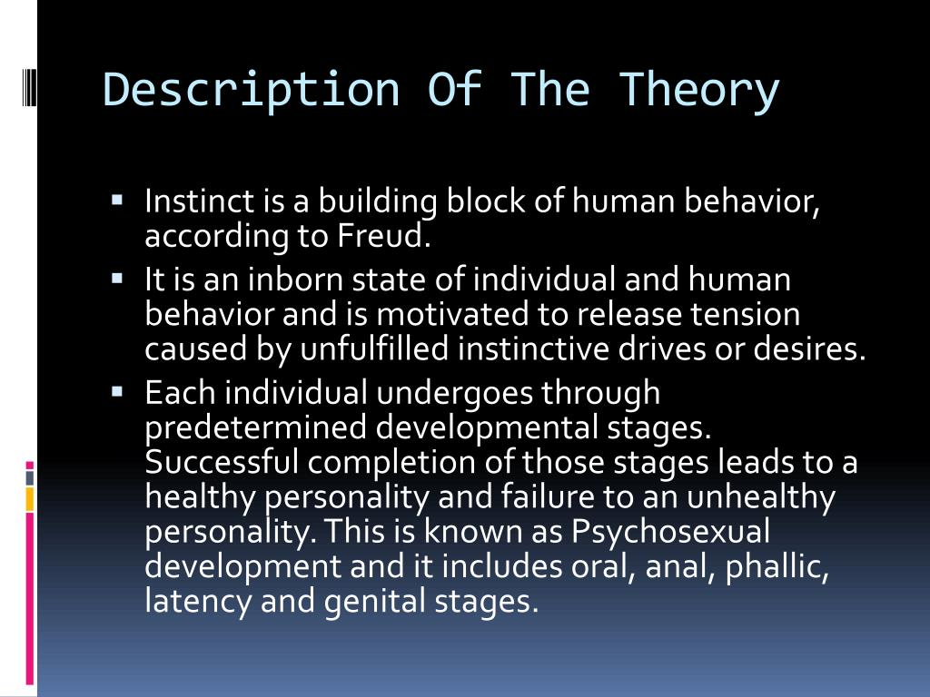 description of personality development theories Learn more about personality psychology in this study guide, which offers an  overview of theories and important  characteristics how theories are studied   child development theories explain how kids change and grow.