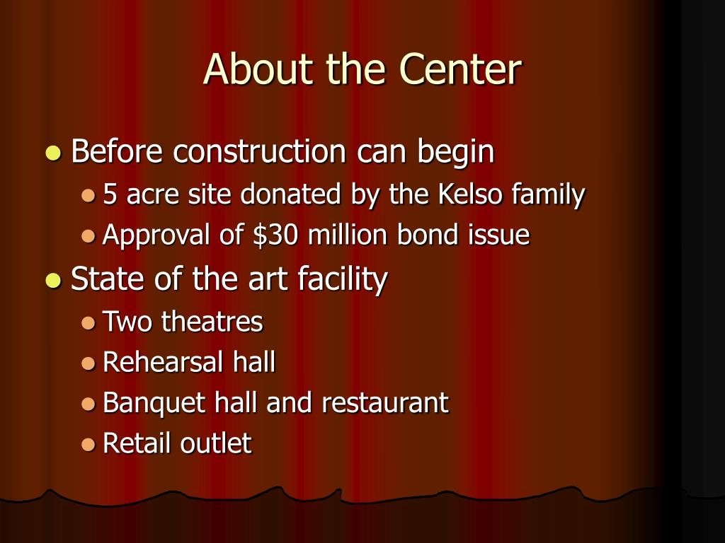 About the Center