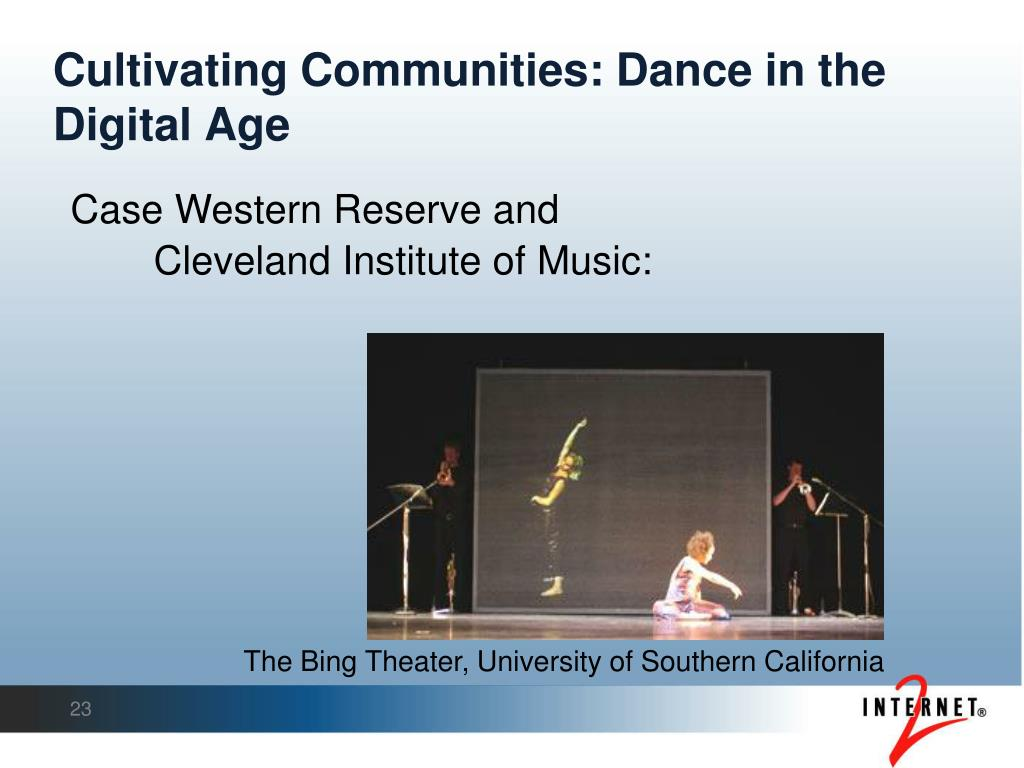 Cultivating Communities: Dance in the Digital Age