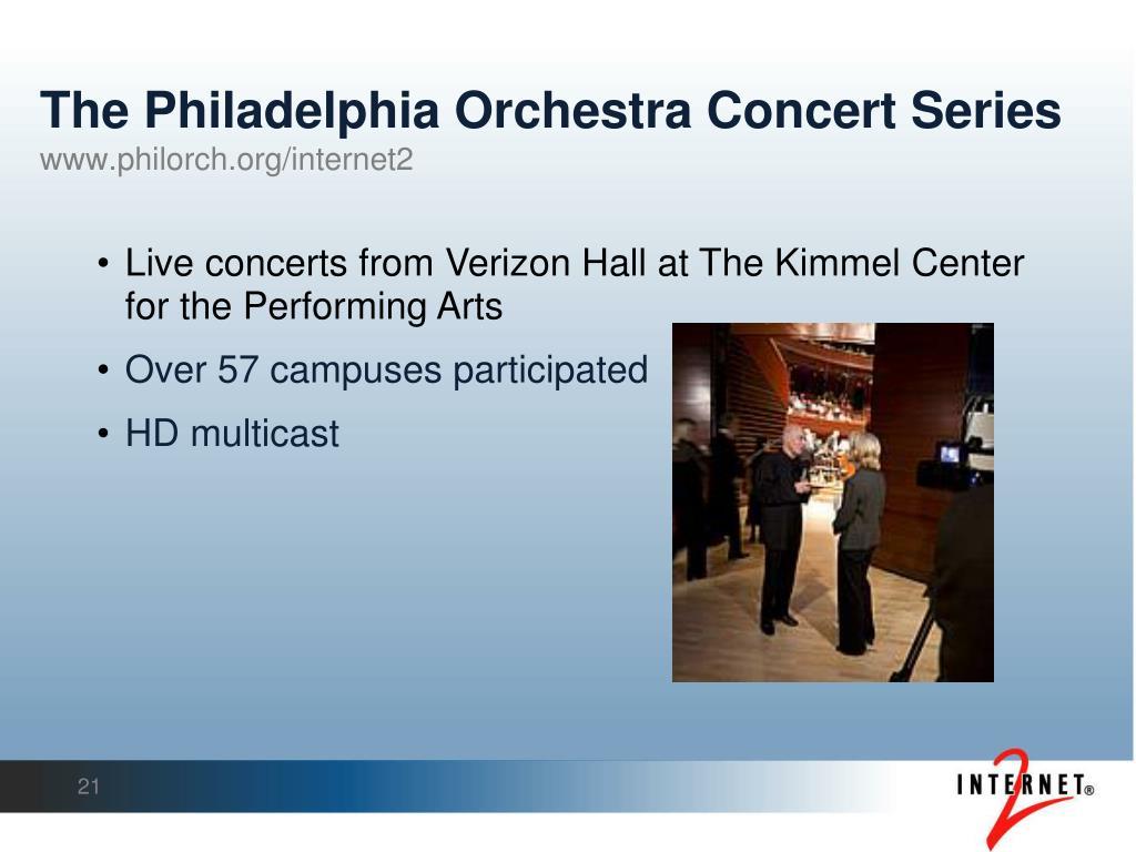 The Philadelphia Orchestra Concert Series