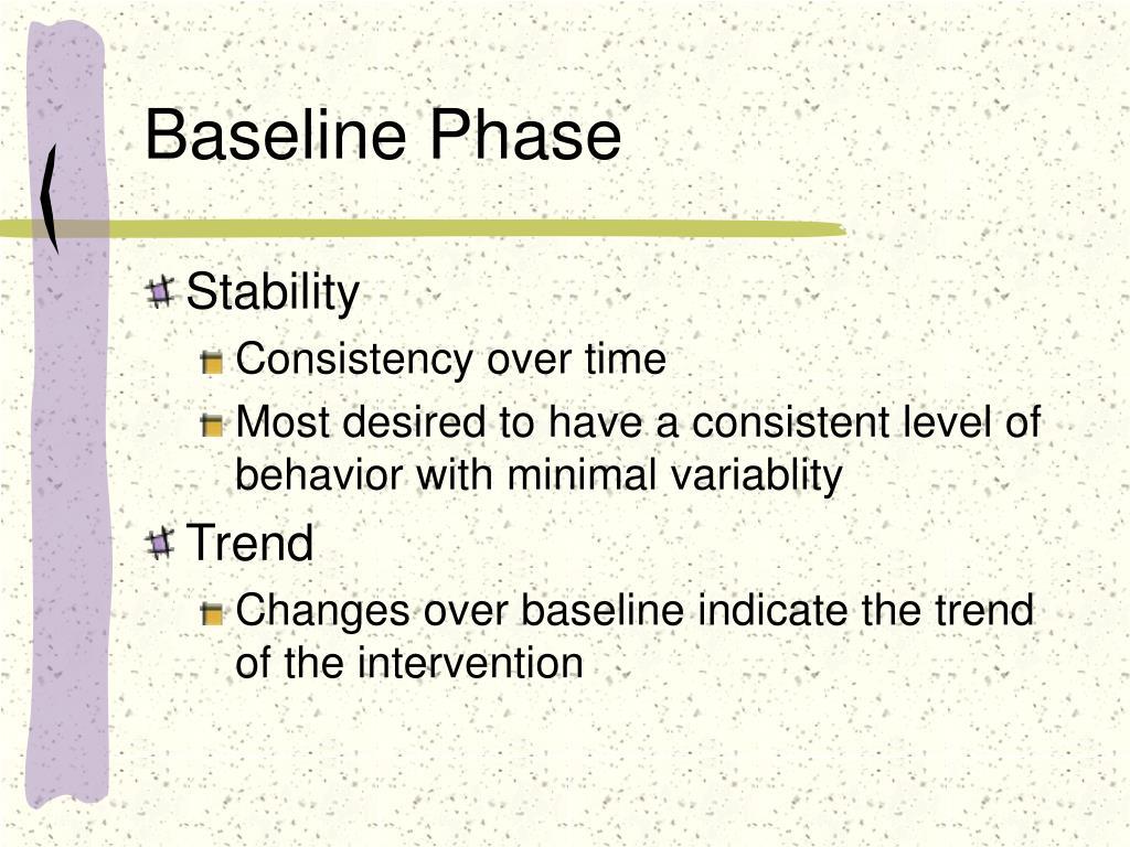 Baseline Phase