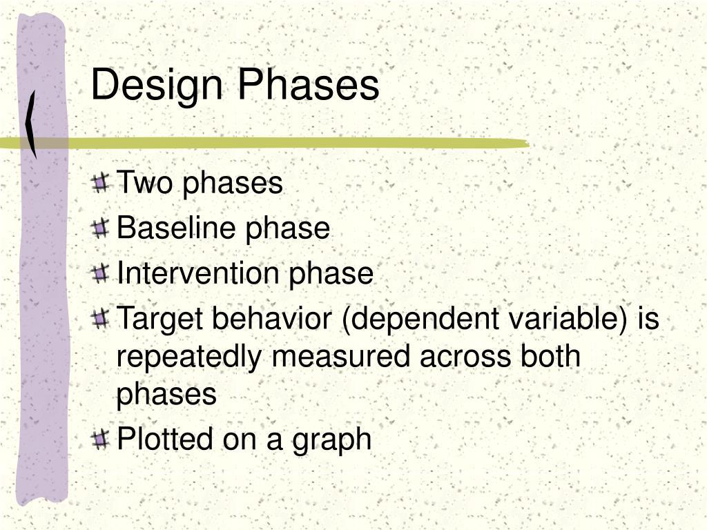 Design Phases