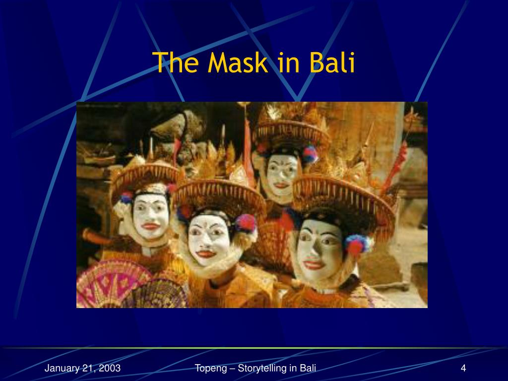 The Mask in Bali