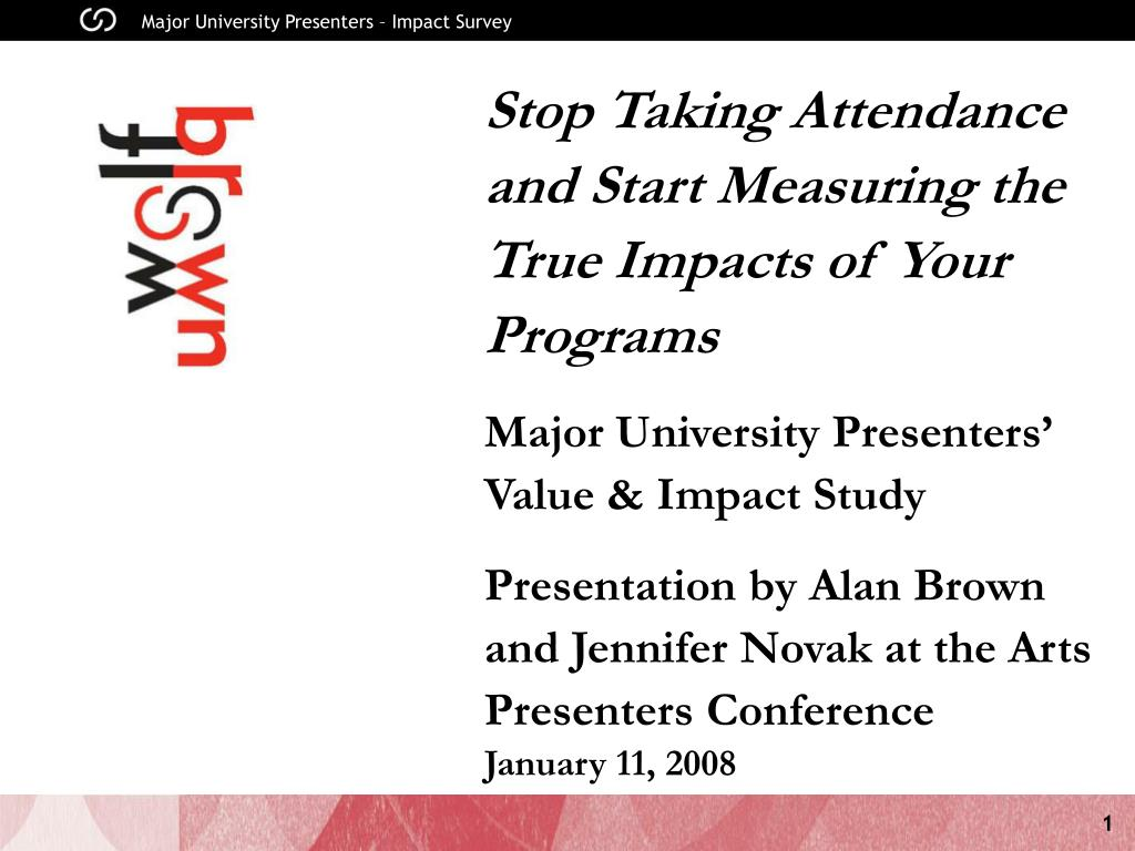 Stop Taking Attendance and Start Measuring the True Impacts of Your Programs