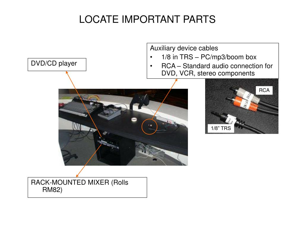 Auxiliary device cables