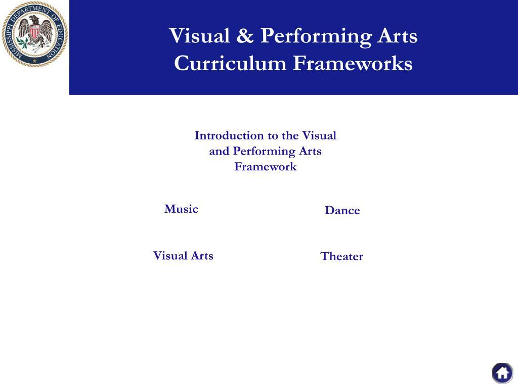 Visual & Performing Arts