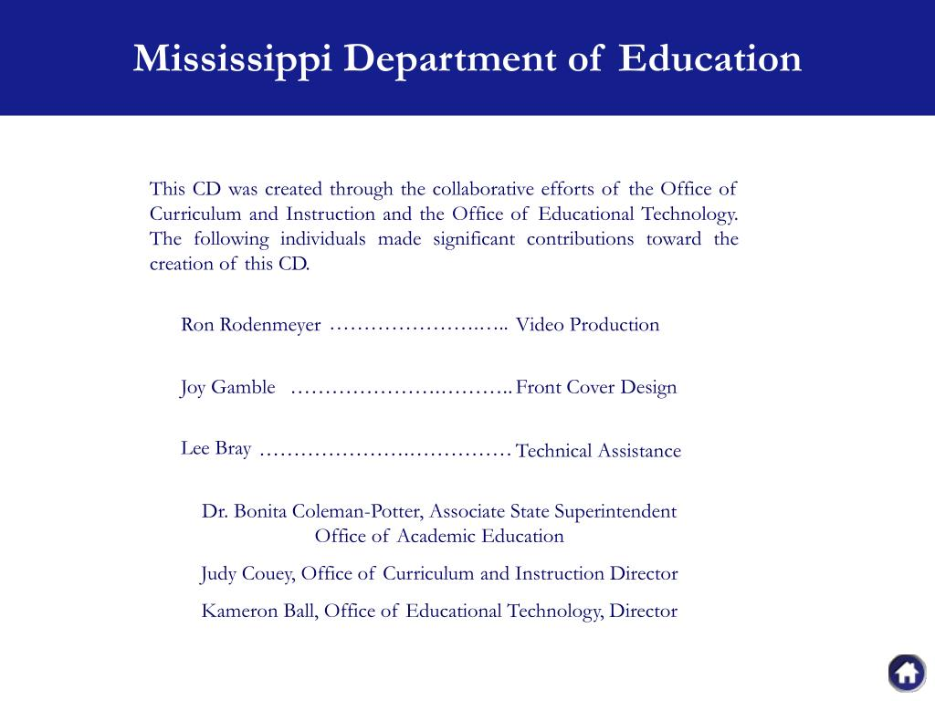 Mississippi Department of Education