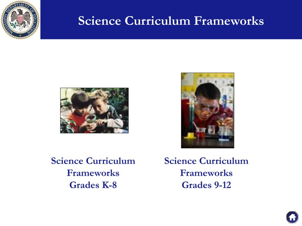 Science Curriculum Frameworks