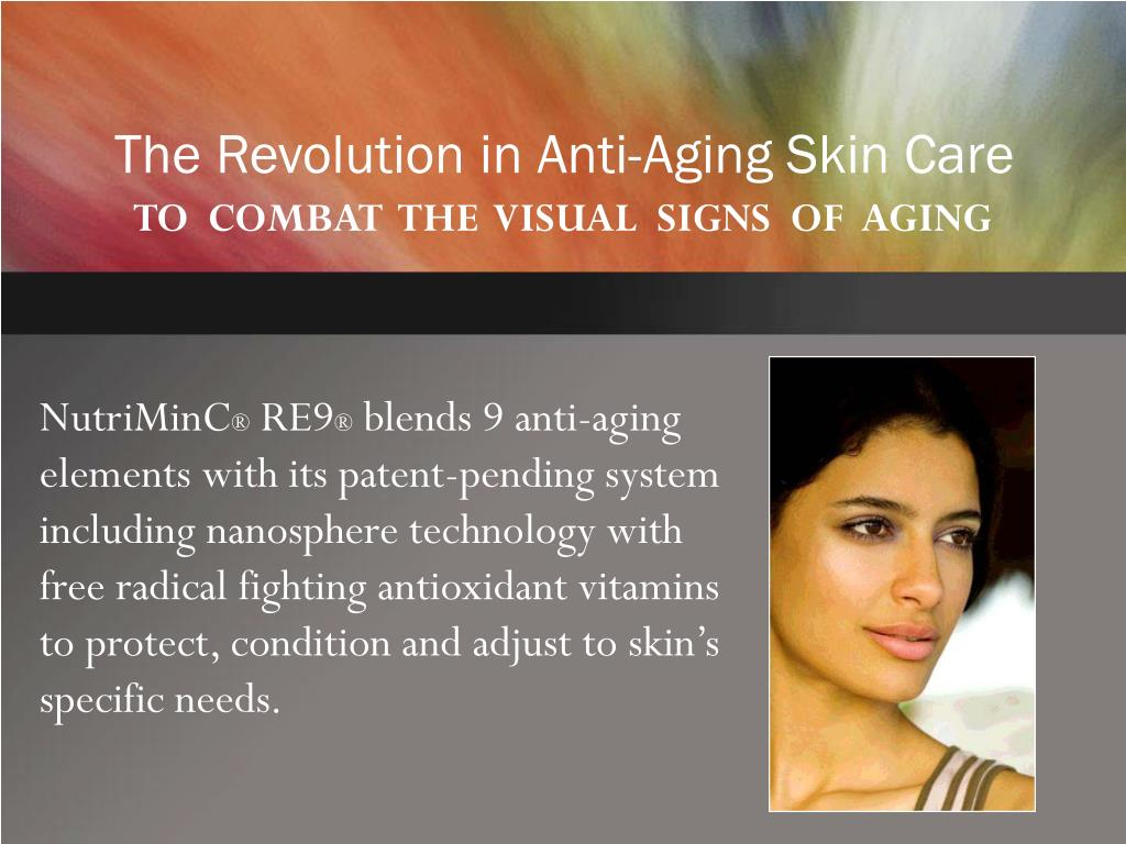 The Revolution in Anti-Aging Skin Care