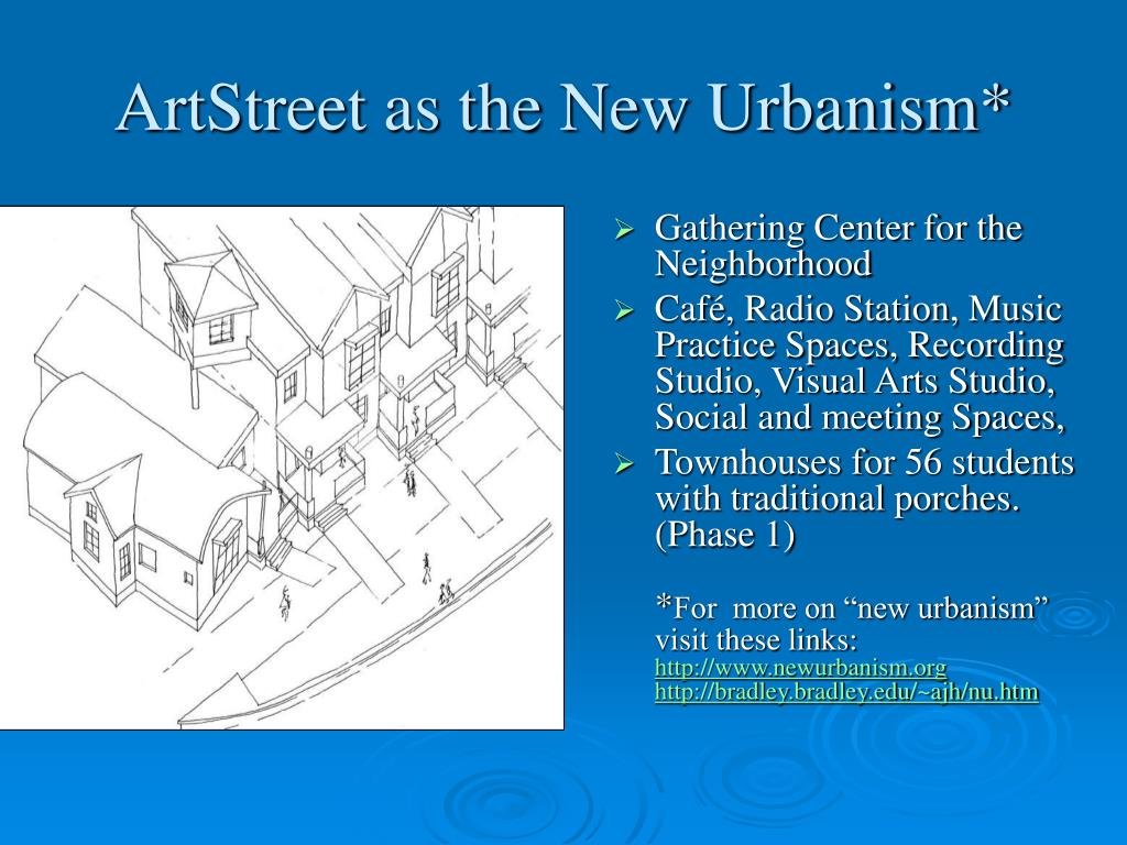 ArtStreet as the New Urbanism*