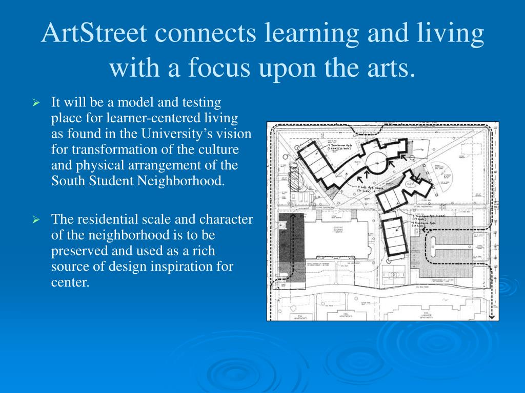 ArtStreet connects learning and living with a focus upon the arts.