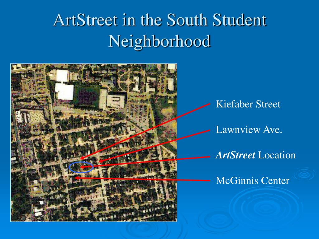 ArtStreet in the South Student Neighborhood