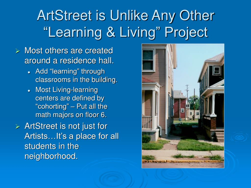 "ArtStreet is Unlike Any Other ""Learning & Living"" Project"
