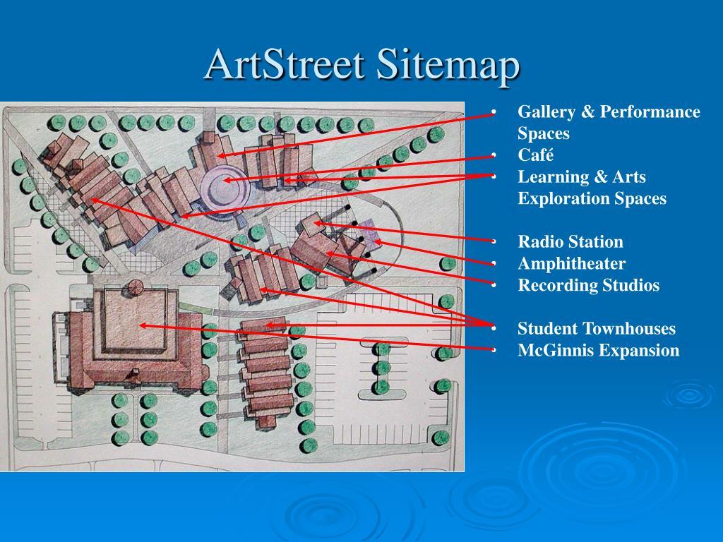 ArtStreet Sitemap