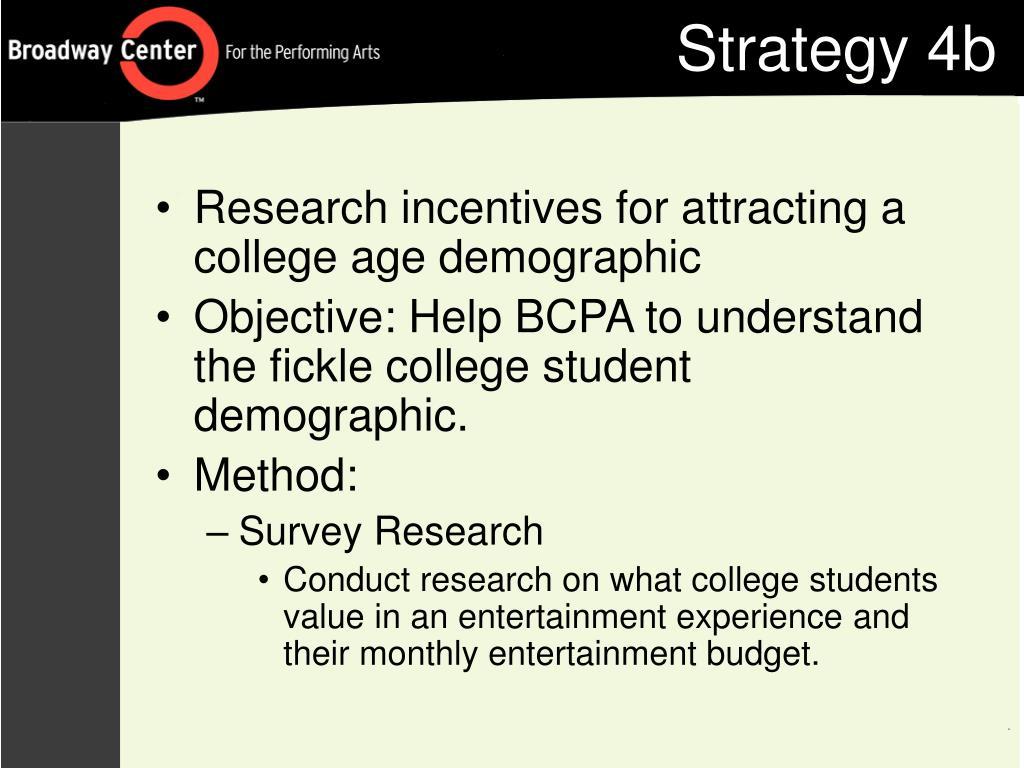 Strategy 4b