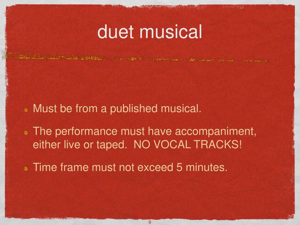duet musical
