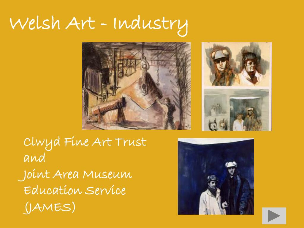 Welsh Art - Industry