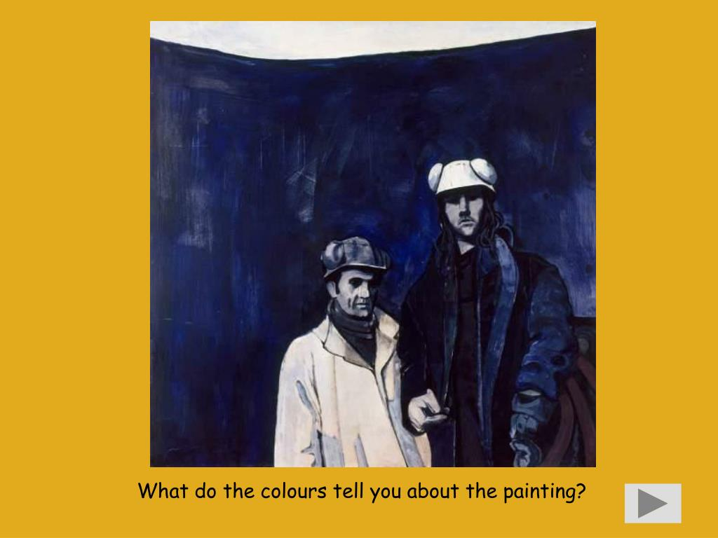 What do the colours tell you about the painting?
