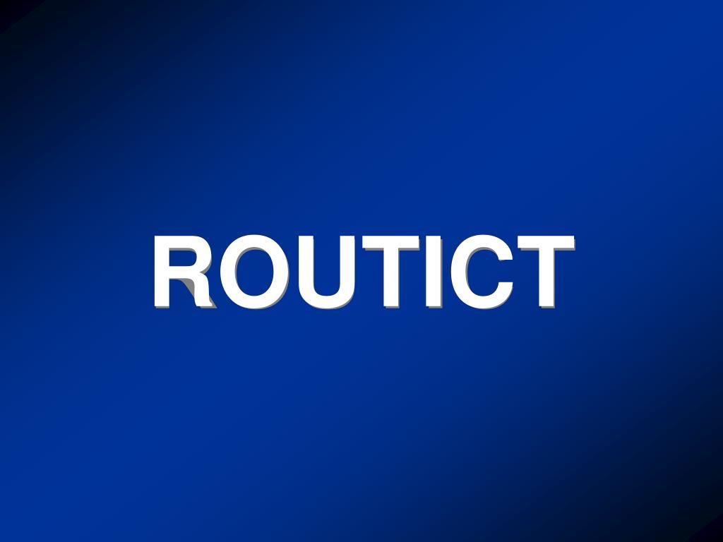 ROUTICT