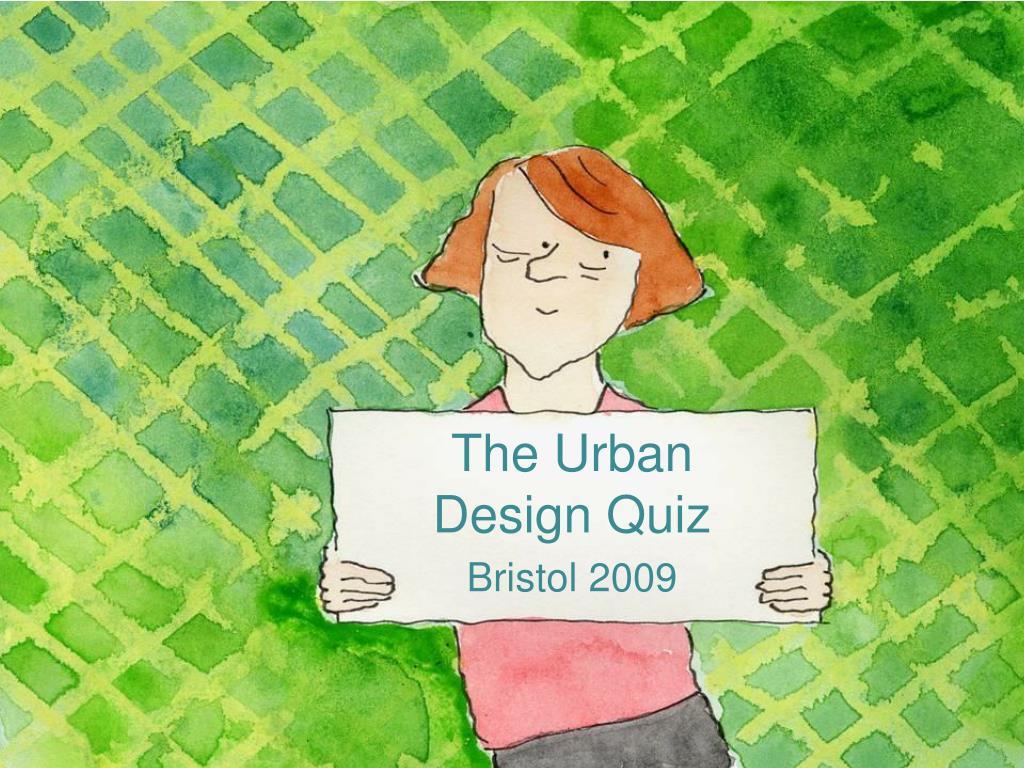 The Urban Design Quiz