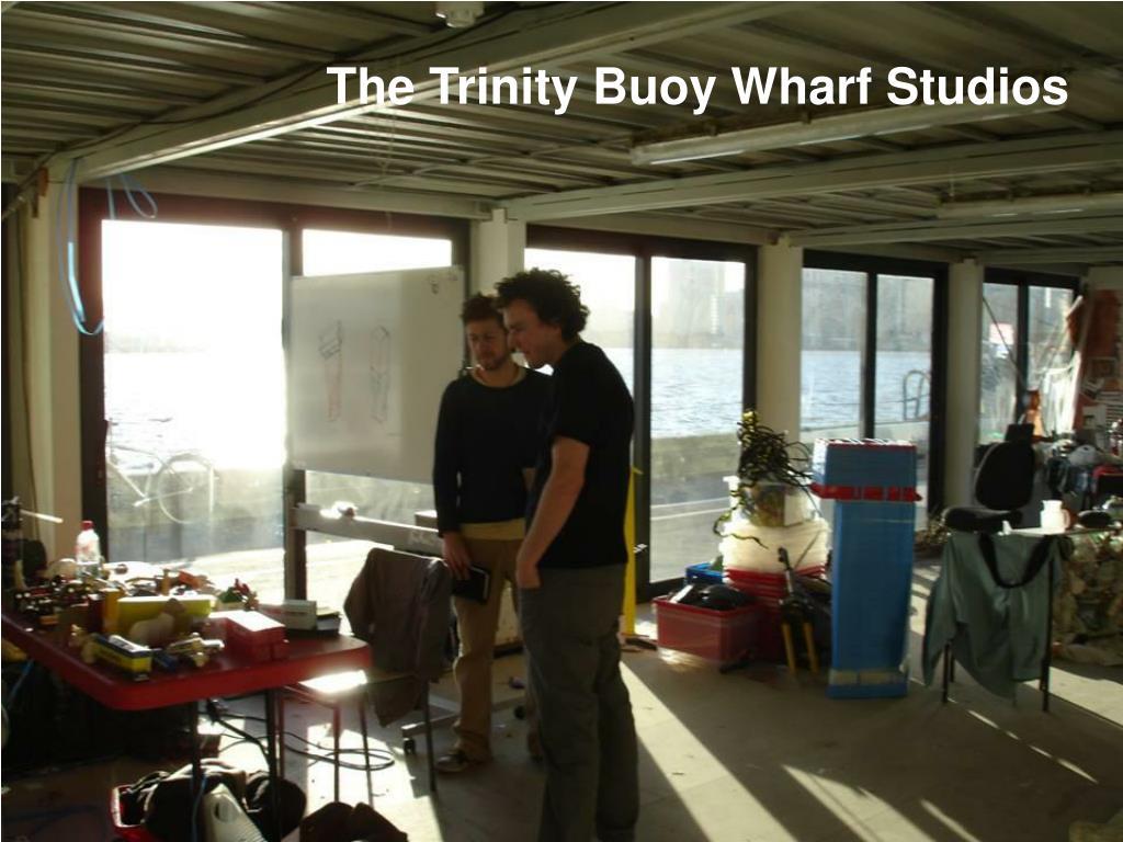 The Trinity Buoy Wharf Studios